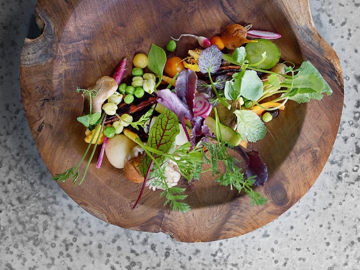 Benheim Farm Salad |Dan Barber