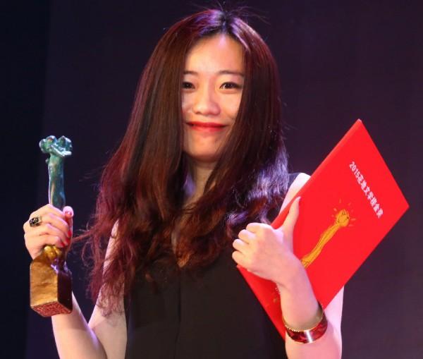 La scrittrice cinese Di An
