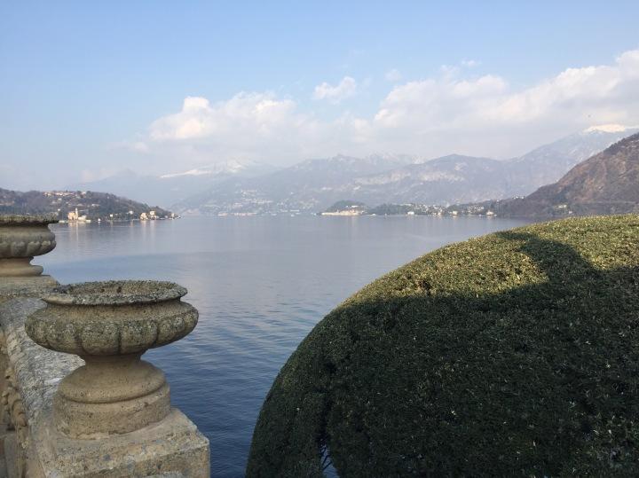 Vista Lago di Como | Direzione nord | Villa Balbianello