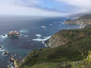 California | CA 1 Highway da Pacific Grove a Cambria