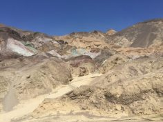 Death Valley | La palette degli artisti