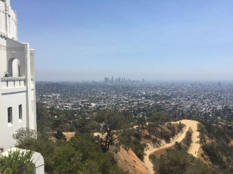 Hollywood | Vista sulla città di Los Angeles dall'Osservatorio Griffith