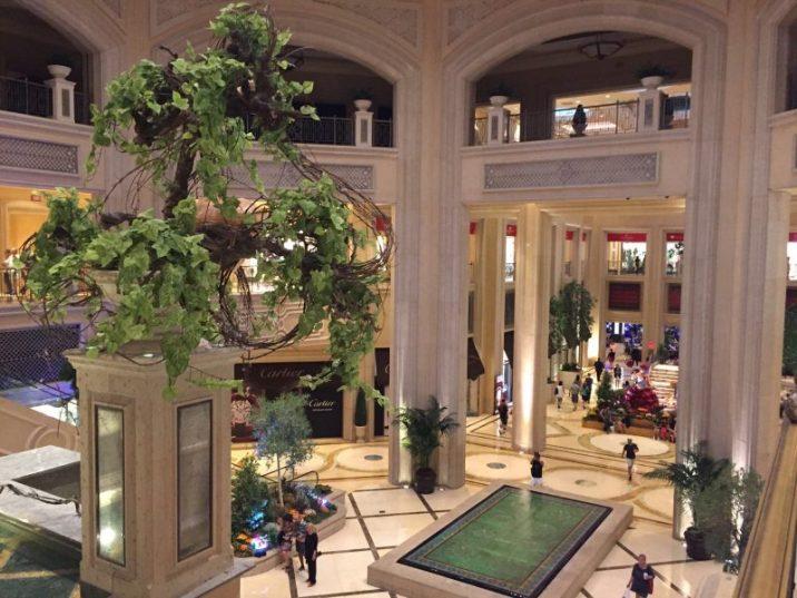 Las Vegas | The Palazzo hall
