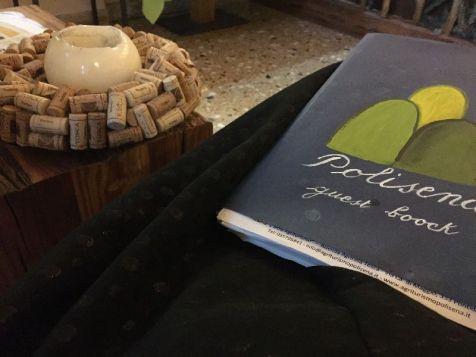 Polisena guest book