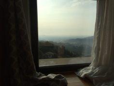 Vista panoramica dalla suite