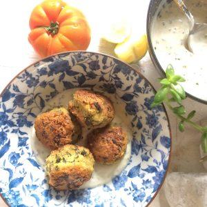 Falafel vegan e gluten free