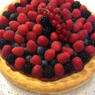 Cheesecake ai frutti rossi