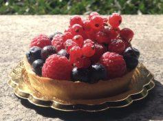 Mini frolla ai frutti rossi