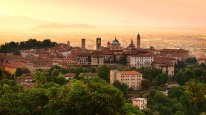 Credit_Sunrise_at_Bergamo_old_town_Lombardy_Italy